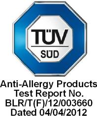 TUV - Anti-Allerji Test Raporu