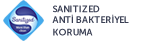 SANITIZED ANTİ BAKTERİYEL KORUMA